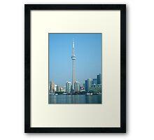CN Tower Skyline Framed Print