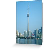 CN Tower Skyline Greeting Card
