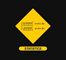 Sign Triangular Distribution Statistics Unisex T-Shirt