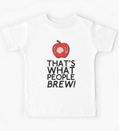That's What People BREW Kids Tee