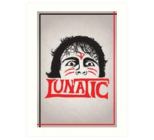 """The Lunatic"" Wrestling Design Art Print"