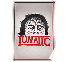 """The Lunatic"" Wrestling Design Poster"