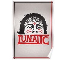 """The Lunatic"" Wrestling Design Poster"