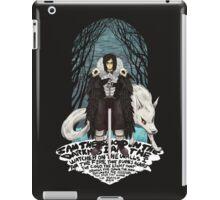 Jon Snow, Lord Commander iPad Case/Skin