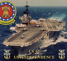 CV-62 USS Independence by Mil Merchant
