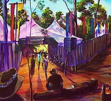 Gympie Muster - 25thAnniversary Artscape by tola