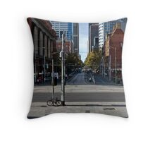 Melbourne, CBD 05 Throw Pillow