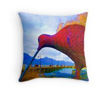 big bird 2 Throw Pillow