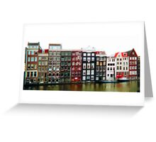 tiny amsterdam Greeting Card