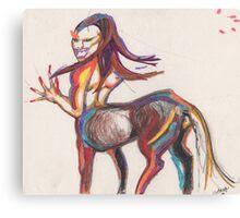 Raw passion Canvas Print