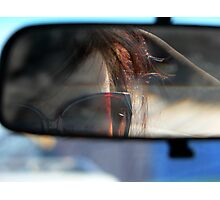 Rearview Photographic Print