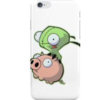 Gir riding his Pig iPhone Case/Skin