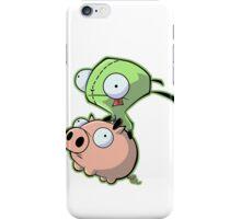 Gir riding his Pig iPhone Case/Skin