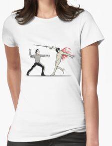 The Hidden Sword Womens Fitted T-Shirt