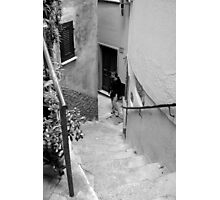 street stair Photographic Print