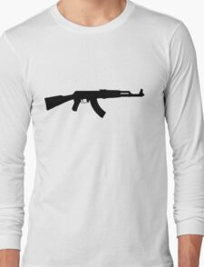 AK 47 Long Sleeve T-Shirt