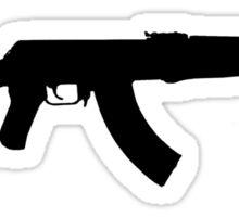 AK 47 Sticker