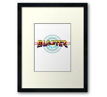 Arcade Classic - Blaster Framed Print