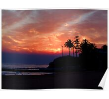 Lights To The Point -Collaroy - Sydney Beaches, Sydney Australia Poster