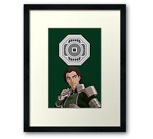 The Legend of Korra Kuvira Earth Empire Framed Print
