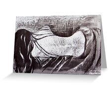 Cold, Lonely Nights Greeting Card