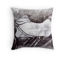 Cold, Lonely Nights Throw Pillow