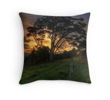 Sunset in Montville, Queensland Throw Pillow