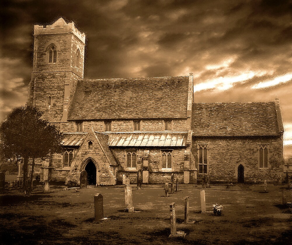 Stormy Church ~ 02 by Kate Towers IPA