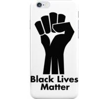 Black Lives Matter iPhone Case/Skin