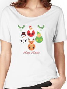 Happy Holidays! Women's Relaxed Fit T-Shirt