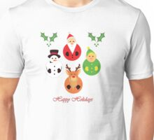 Happy Holidays! Unisex T-Shirt