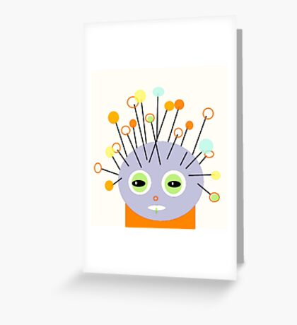 ART FOR KIDS and BIG KIDS, POLLY DOLLOPS Greeting Card