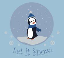 Let It Snow! (Penguin) Baby Tee