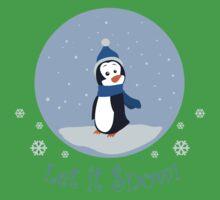 Let It Snow! (Penguin) Kids Tee