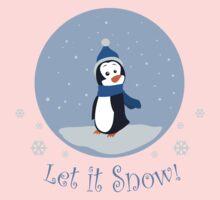 Let It Snow! (Penguin) Kids Clothes