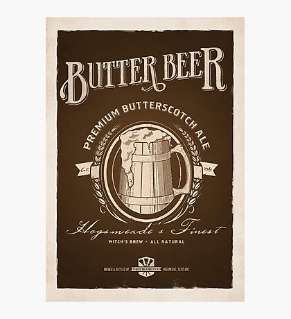 A Vintage Brew Photographic Print