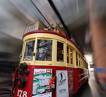 travellin' tram by Ian Robertson