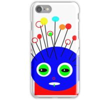 Art on a pillow, POLLY DOLLOPS collectable gifts iPhone Case/Skin