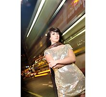 Call A Taxi Photographic Print