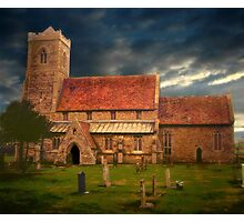 Stormy Church  Photographic Print