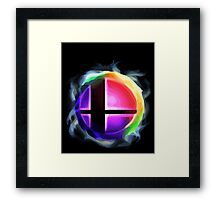 Smash Ball Framed Print