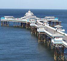 llandudno victorian pier by ccrcats
