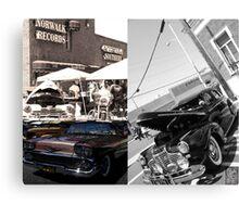 Norwalk Elks Lodge #2142; Car Show Collaboration Canvas Print