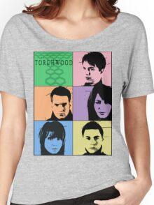 Torchwood Pop Art Women's Relaxed Fit T-Shirt