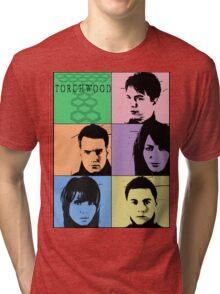 Torchwood Pop Art Tri-blend T-Shirt