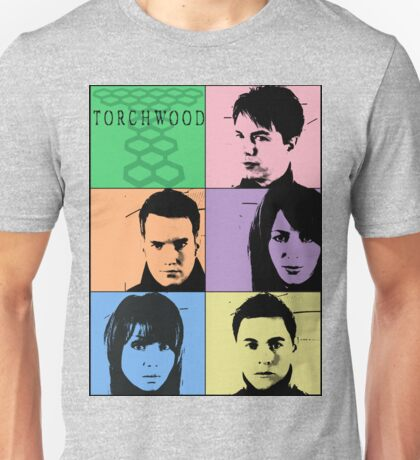 Torchwood Pop Art Unisex T-Shirt