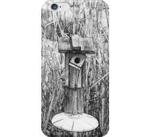Bird House in Swamp iPhone Case/Skin