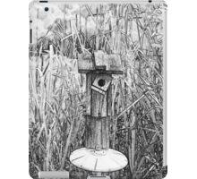 Bird House in Swamp iPad Case/Skin