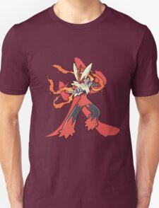 Blaziken With Fire Kanji T-Shirt