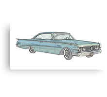 1960 Ford Edsel classic car Canvas Print